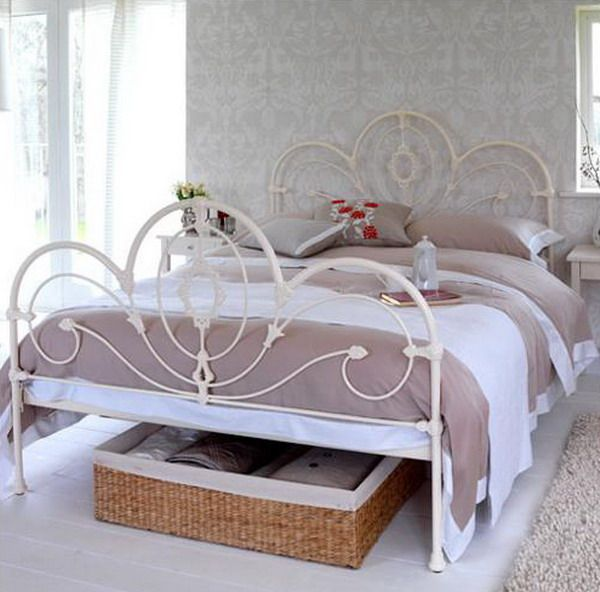 vintage wire bed frames - google search | dream room | pinterest