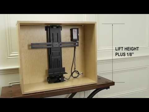 325 Inch Tall Tv Lift Arduino Simple Tv Living Room