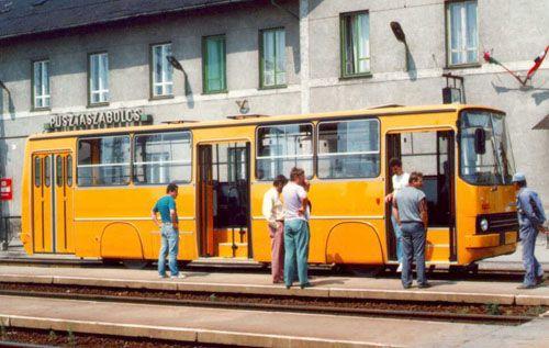 Транспортный блог Saroavto: Рельсовые автобусы Ikarus
