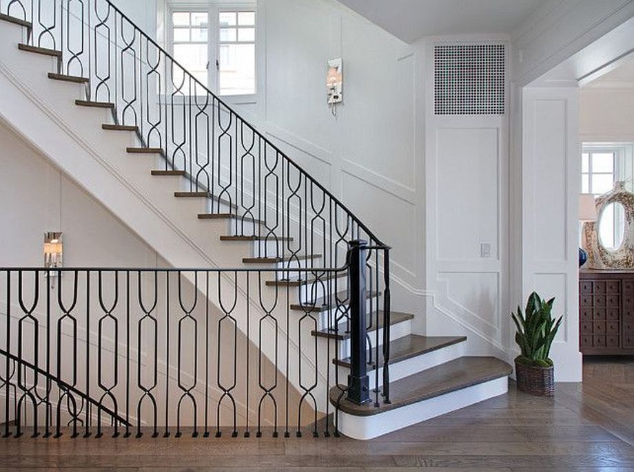 40 Awesome Modern Stairs Railing Design 6 Jpg 920 686 Pixels Stair Railing Design Railing Design Modern Stairs