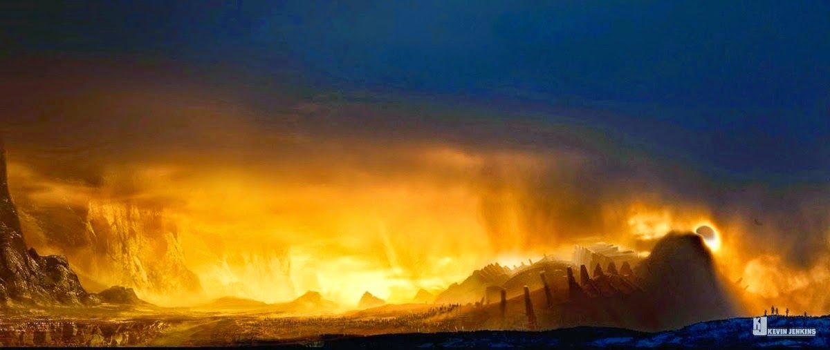 Breathtaking THOR: THE DARK WORLD Concept Art by Kev Jenkins « Film Sketchr