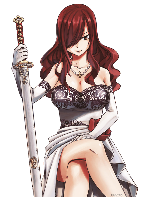 Image Result For Anime Transparent Background Fairy Tail Girls Fairy Tail Erza Scarlet Fairy Tail Anime