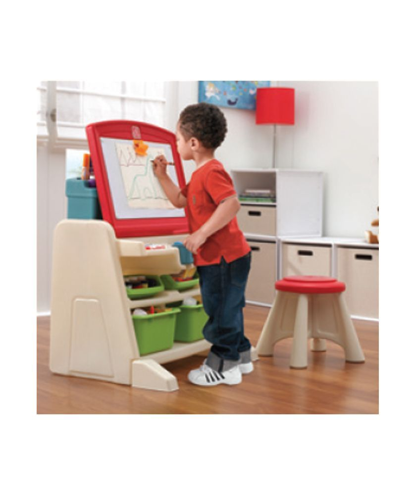 Dolls house at argos co uk your online shop for dolls houses dolls - Buy Step2 Flip And Doodle Easel Desk With Stool At Argos Co Uk