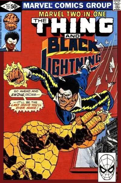Thing VS Black Lightning