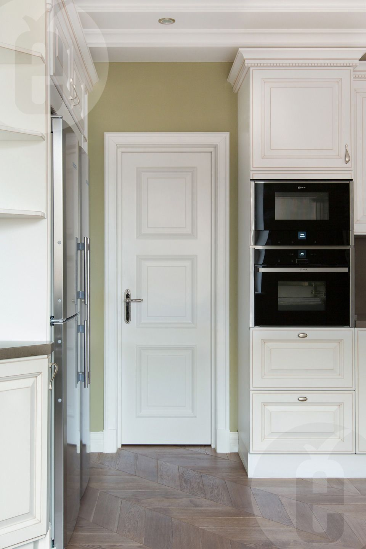 Light interior doors.  Custom model for the interior