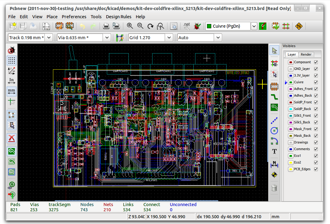 Kicad is an eda software suite for the creation of professional kicad is an eda software suite for the creation of professional schematics and printed circuit boards asfbconference2016 Gallery