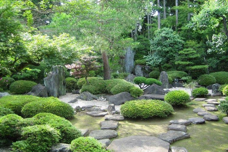 Jardin zen moderne\u2013comment aménager un jardin harmonieux