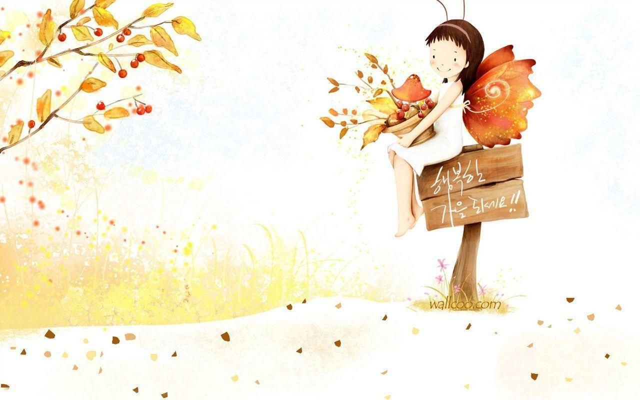 Desktop Wallpaper Hd Cartoon Cute Fairy Wallpaper Cute Cartoon Wallpapers Cartoon Wallpaper