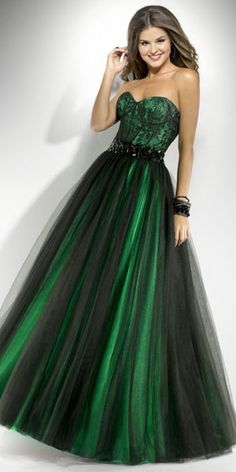 green prom dresses - Google Search | Prom | Pinterest | Formal ...