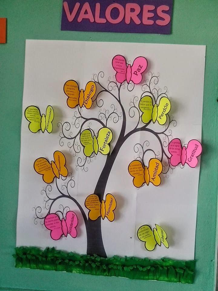 Tips De Actividades Para Tu Grupo Escolar Trabajando Los Valores En La Escuela Manualidades Valores En La Escuela Manualidades Escolares