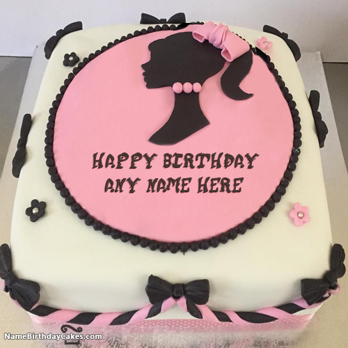 New Arrival Awesome Birthday Cake For Girls With Name ...