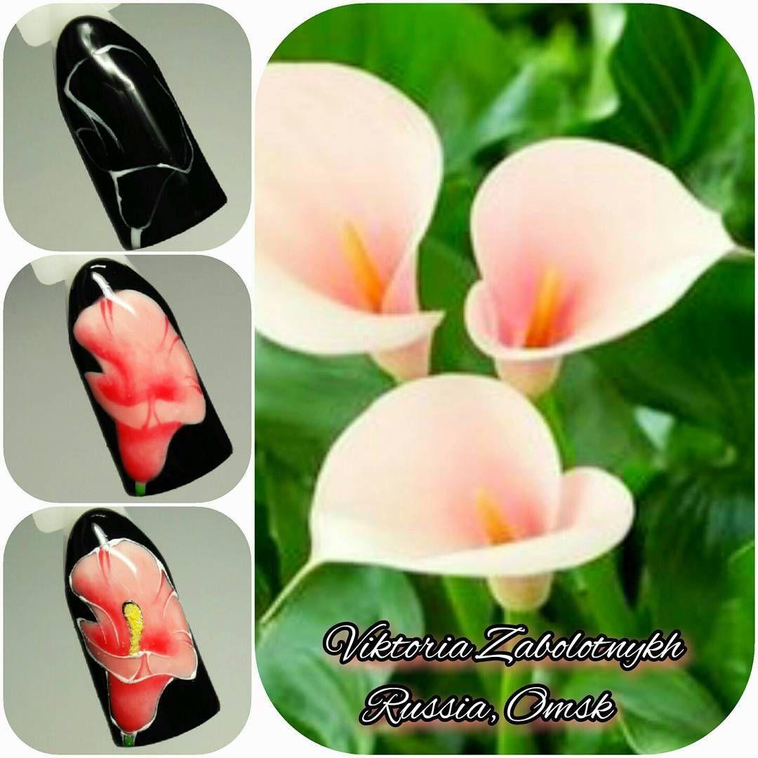Маникюр пошагово | NAils | Pinterest | Diseños para uñas y Tutoriales