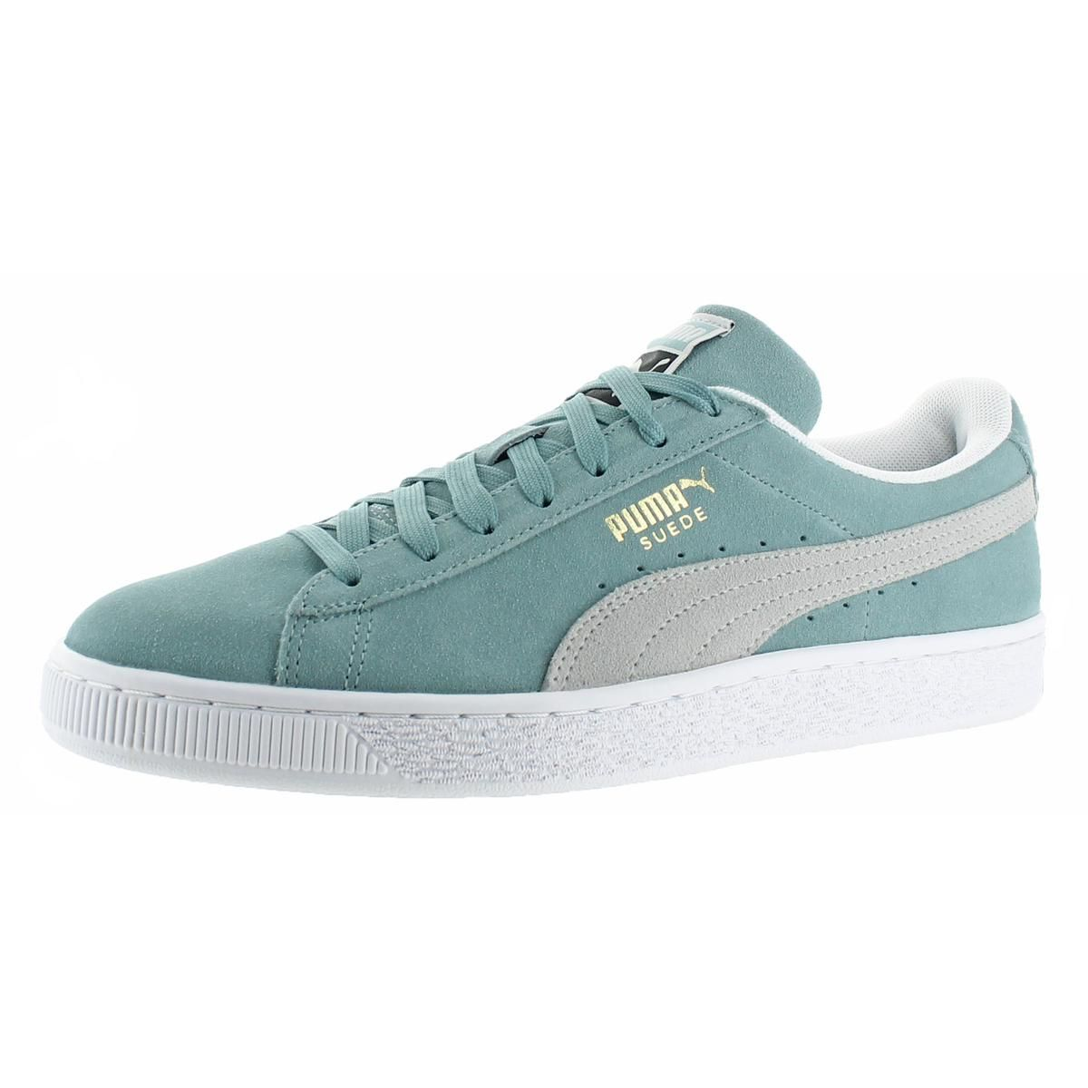 acd27c000cf Puma Suede Classic Men s Fashion Sneakers Shoes Seafoam Green Pale