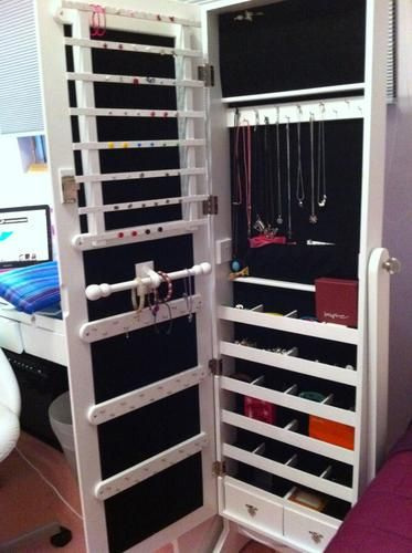 Superieur Full Body Mirror Jewelry Storage?! | LUUUX