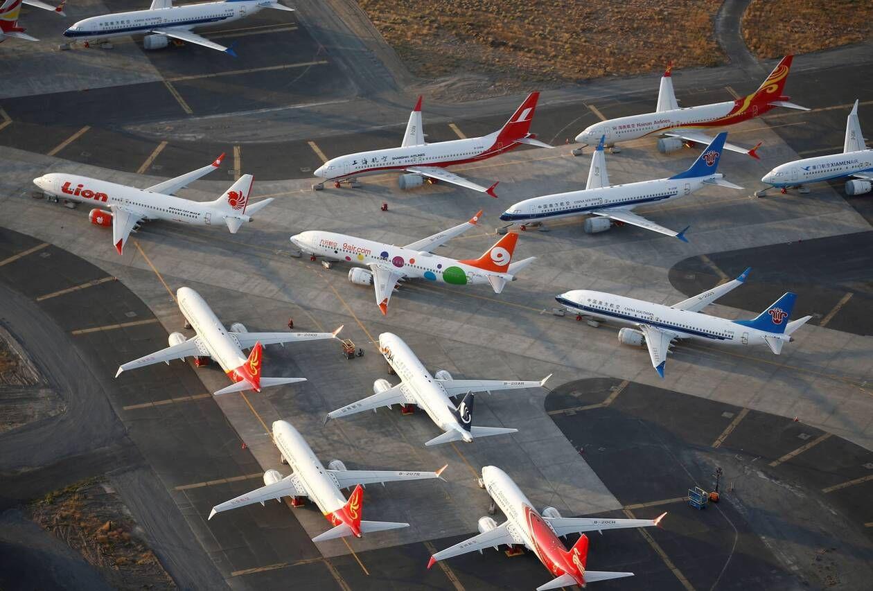 Boeing 737 Max cloué au sol chômage partiel chez Famat à