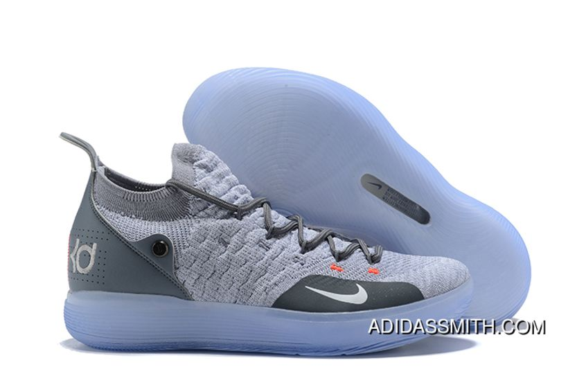 new concept 708b1 cd082 Nike KD 11 Cool Grey Wolf Grey-Pure Platinum Top Deals