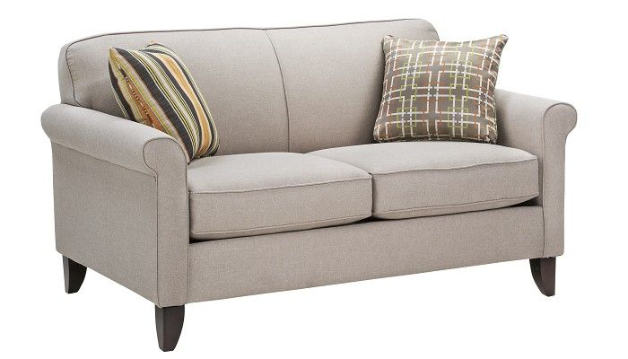 Awesome Slumberland Furniture Monroe Collection Beige Loveseat Pabps2019 Chair Design Images Pabps2019Com