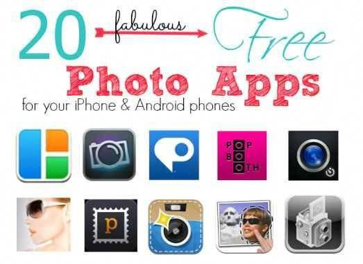 20 FREE Android & iPhone Photo Apps Passion for Savings