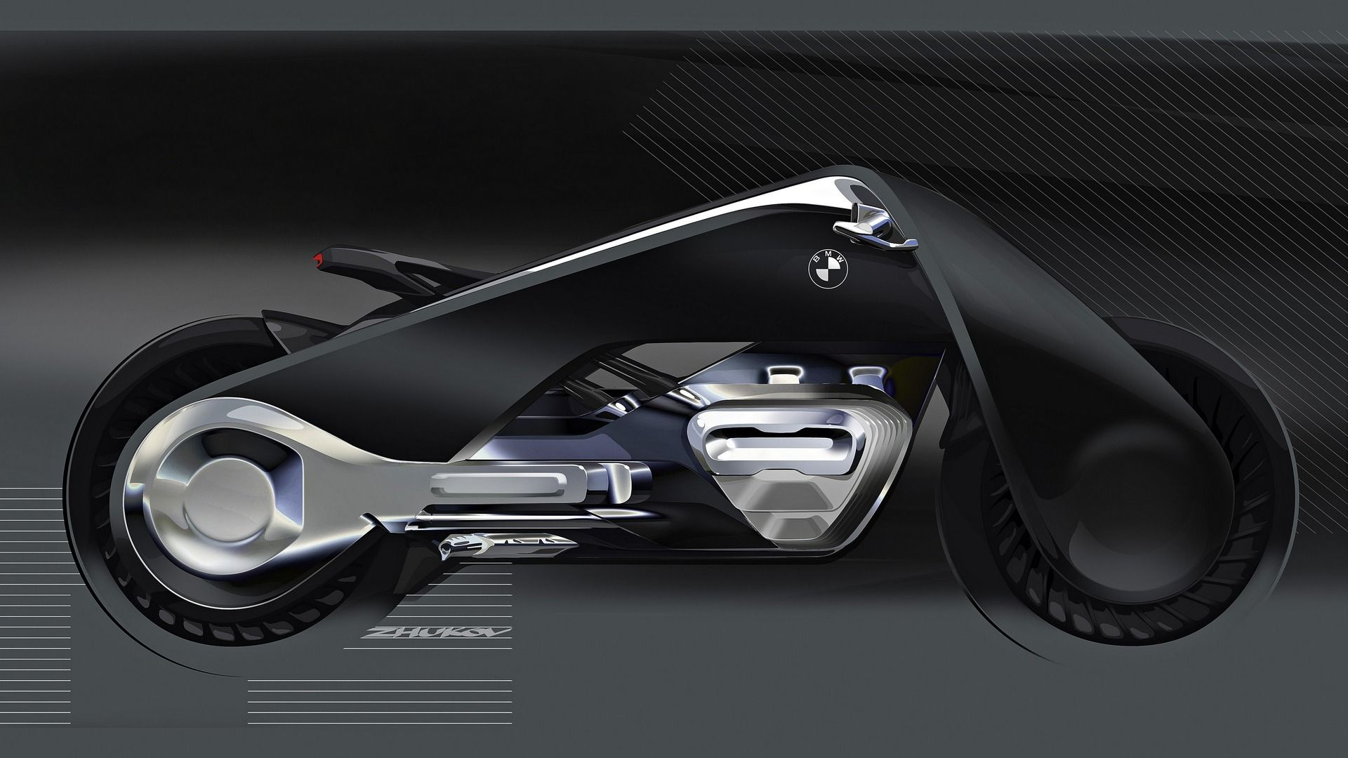 Bmw Motorrad Vision Next 100 Photo Gallery Motor1 Com Speed