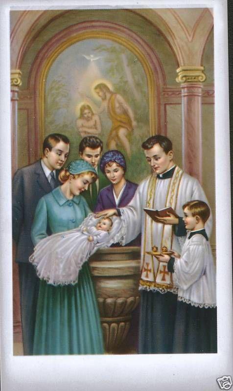 Sacrament of Baptism | Catholic pictures, Catholic images, Catholic