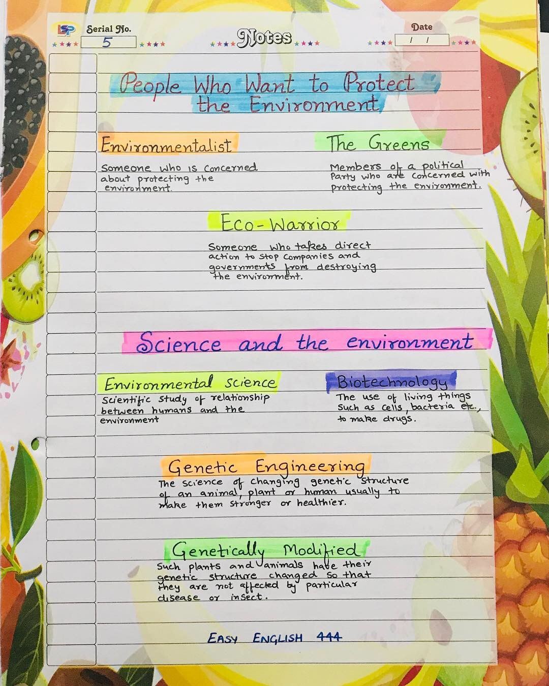 Environment Vocabulary Grammar And Learn English Genetically Modified Food Advantage Disadvantage Essay