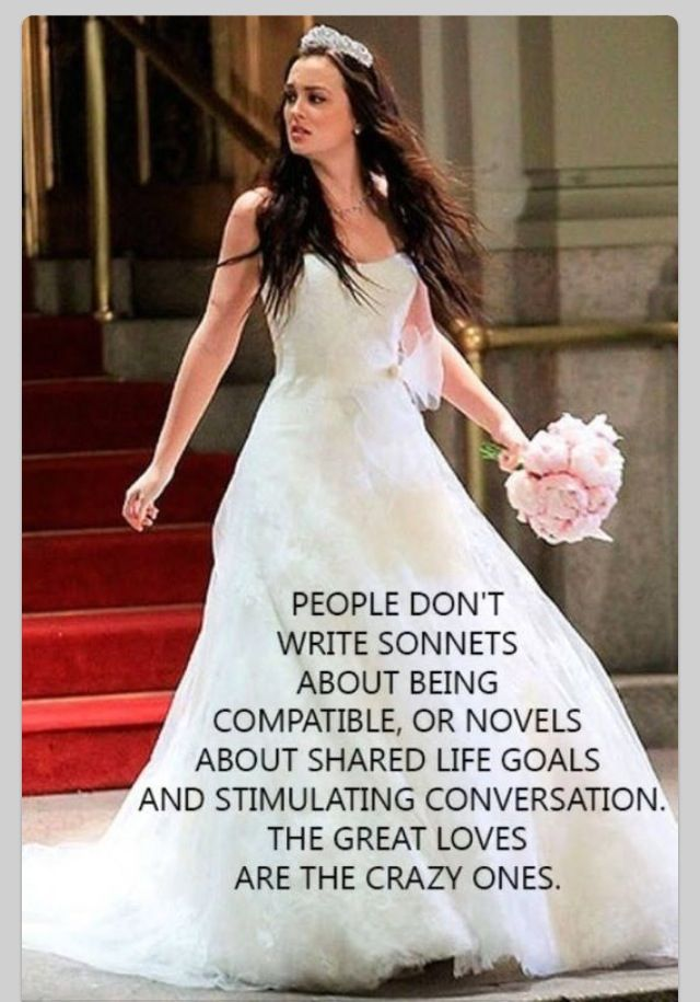 Gossip Girl quote about great love