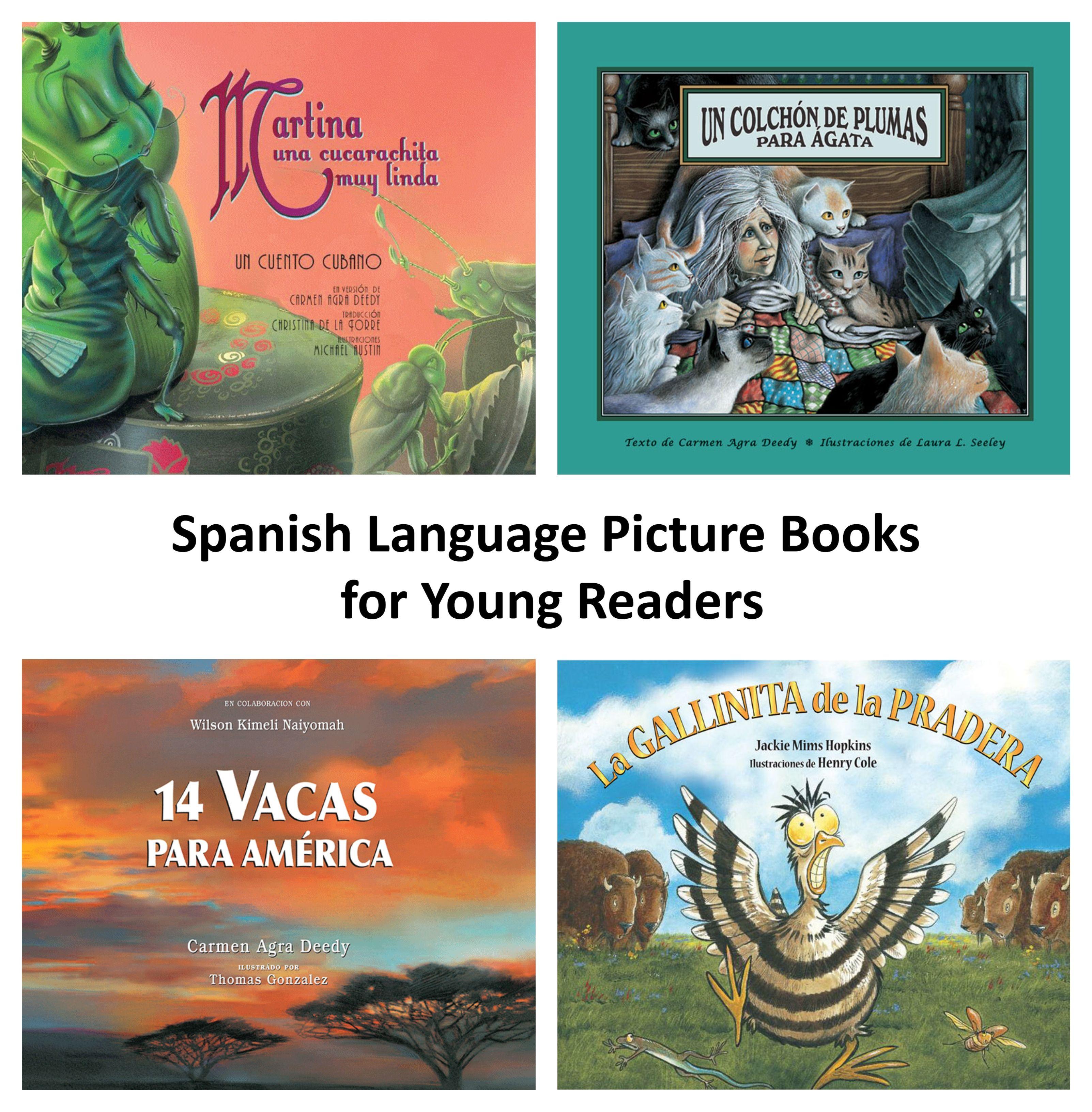 7 spanish language picture books books how to speak