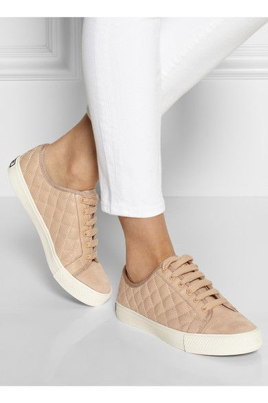 Tory Burch - Caspe quilted leather sneakers
