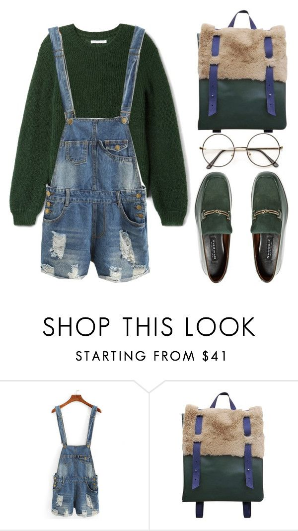 """Distressed Denim"" by the-messiah on Polyvore featuring NewbarK and vintage"