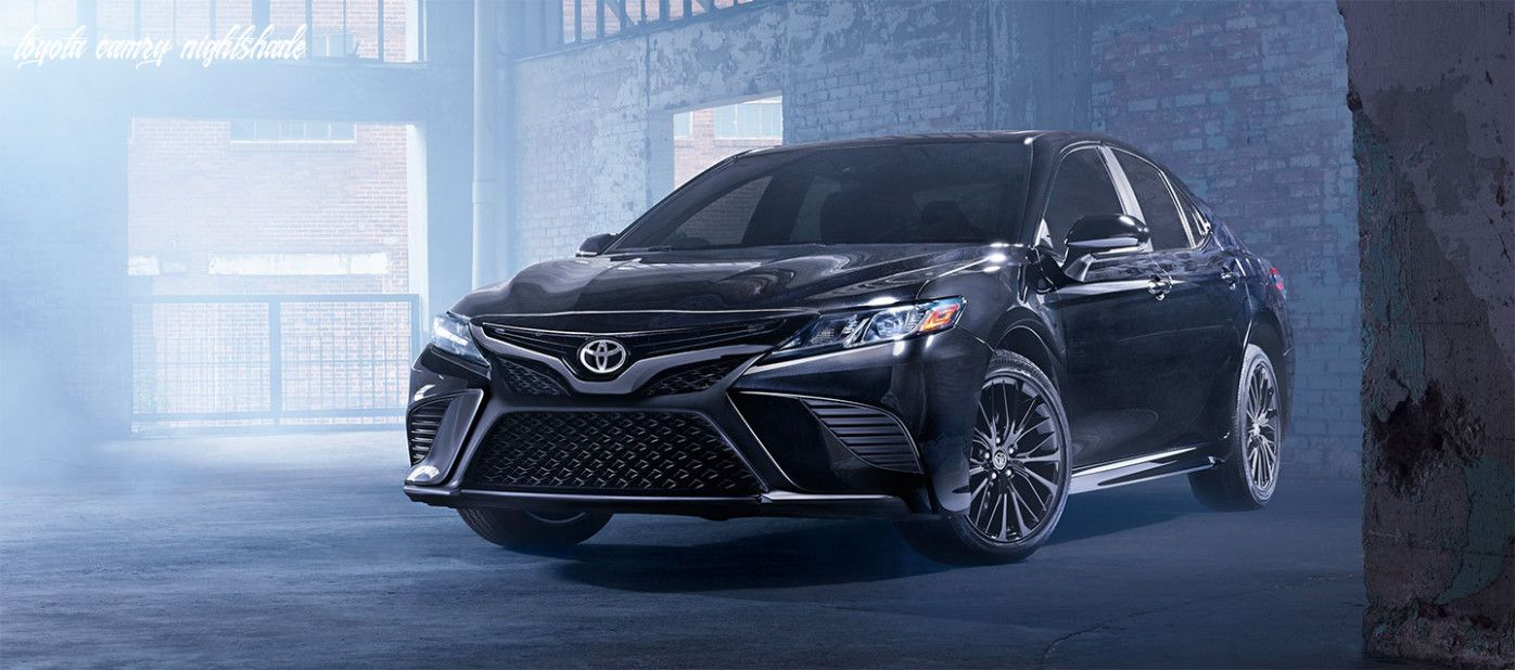 Toyota Camry Nightshade in 2020 Camry, Toyota camry