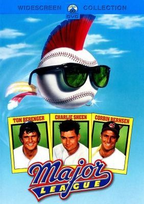 Major League Movie Poster 1989 Poster Baseball Movies Major
