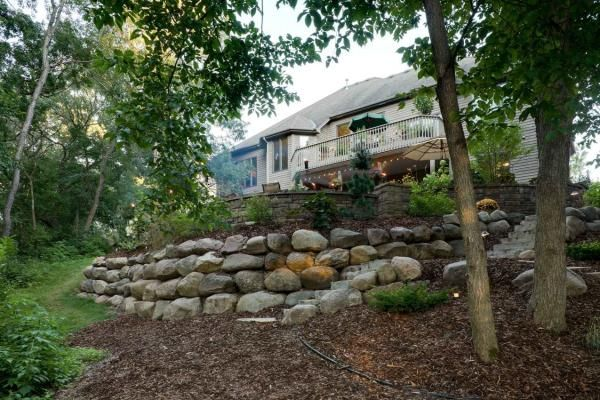 Boulder Wall Landscaping in Minneapolis MN   Southview Design ...