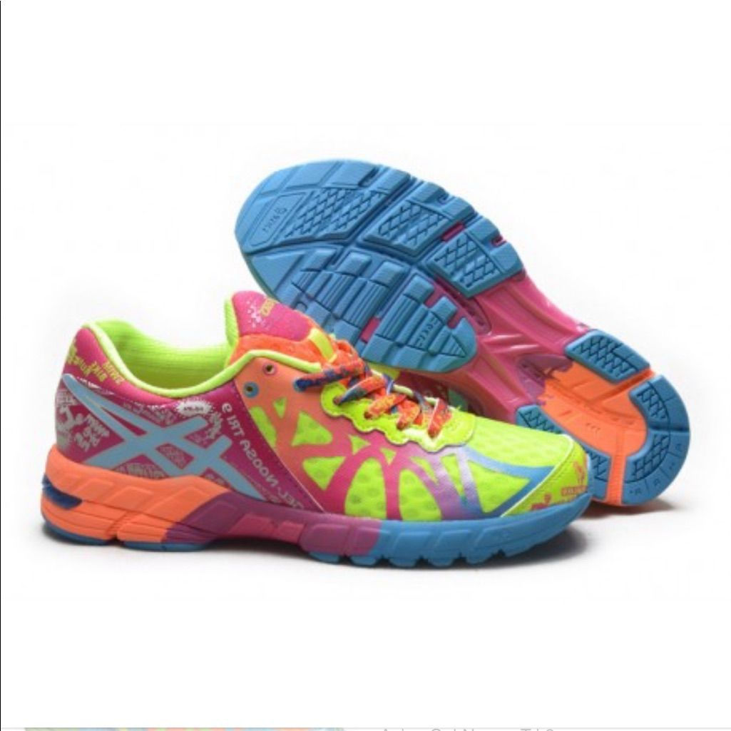 best cheap 237a3 69c61 Asics Shoes   Asics Gel Noosa Tri 9 Running Training Shoe 8.5   Color   Green Pink   Size  8.5