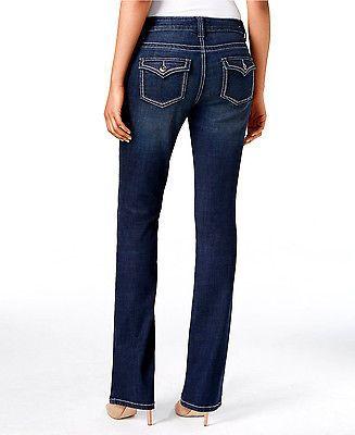 WallFlower Women's Plus Size Luscious Curvy Stretch Bootcut Denim Jeans