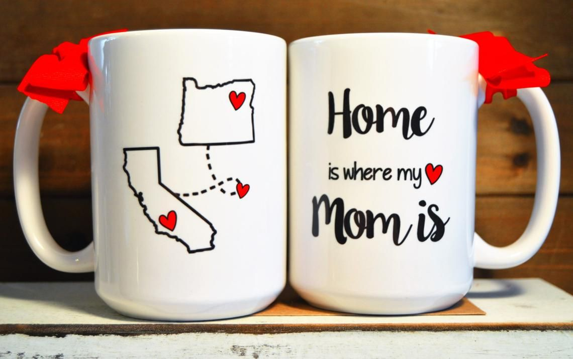 Home is where my mom is mug state to state long distance