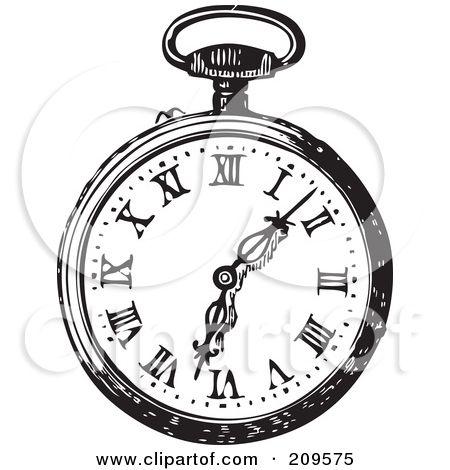 Simple Black Pocket Watch Tattoo Stencil Alice And Wonderland Tattoos Alice In Wonderland Rabbit Clock Drawings