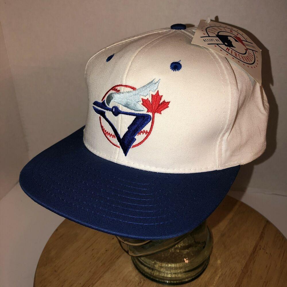 Details about Vtg 90s Toronto Blue Jays Mlb Baseball Hat Cap