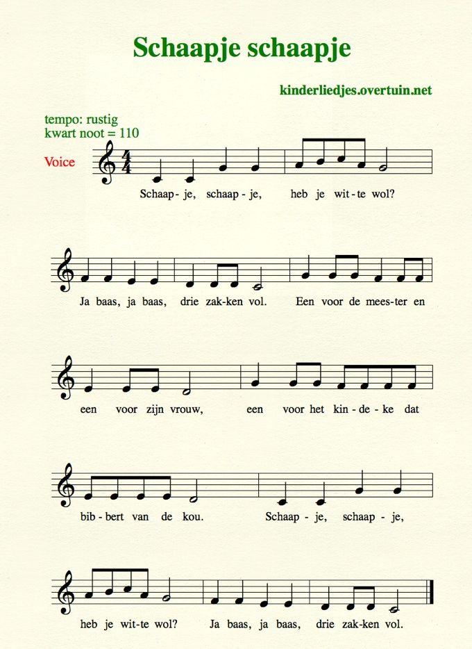 liedje schaap zoeken kinderliedjes