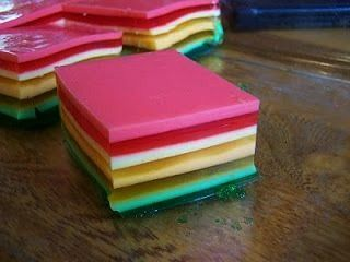 way will this beat my aunt Teris 7layer jello but this is one of the simplest recipes Ive come acrossNo way will this beat my aunt Teris 7layer jello but this is one of t...
