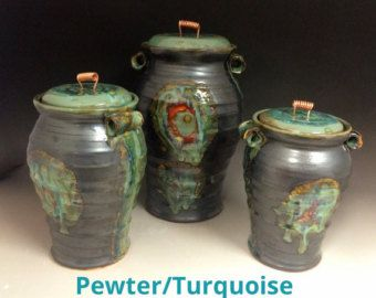 kitchen canisters – Etsy