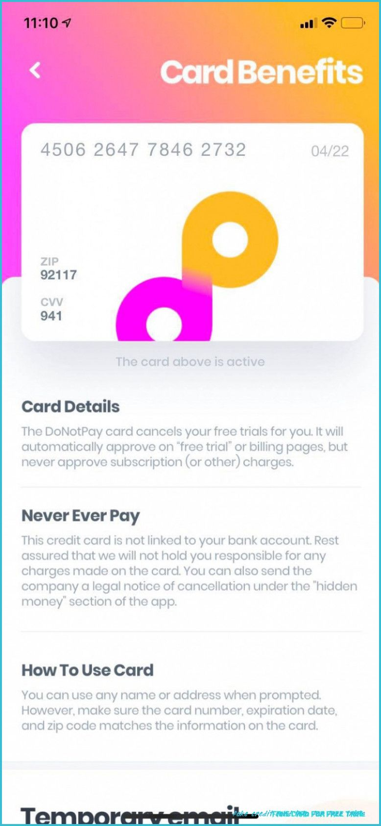 Why Is Fake Credit Card Info For Free Trials Considered