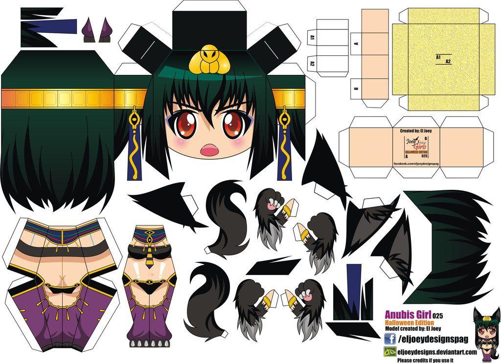 Hazlo Tu Mismo Papercrafts De Anime Y Mas Segunda Parte