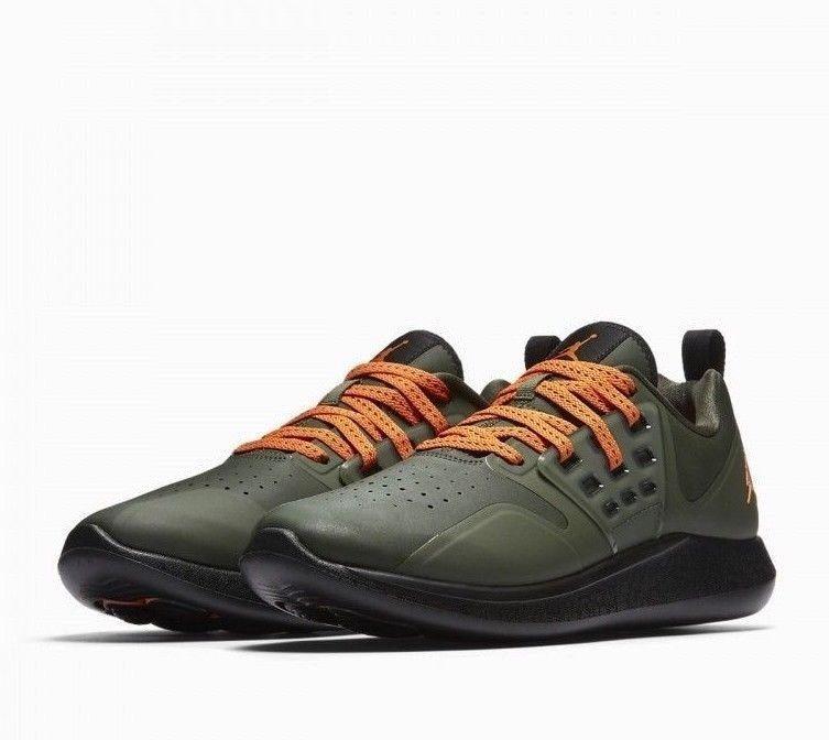 los angeles 2db89 e7da4 Jordan Grind Mens Running Shoes Deep Green Clementine Black AA4302 205   Jordan  RunningShoes