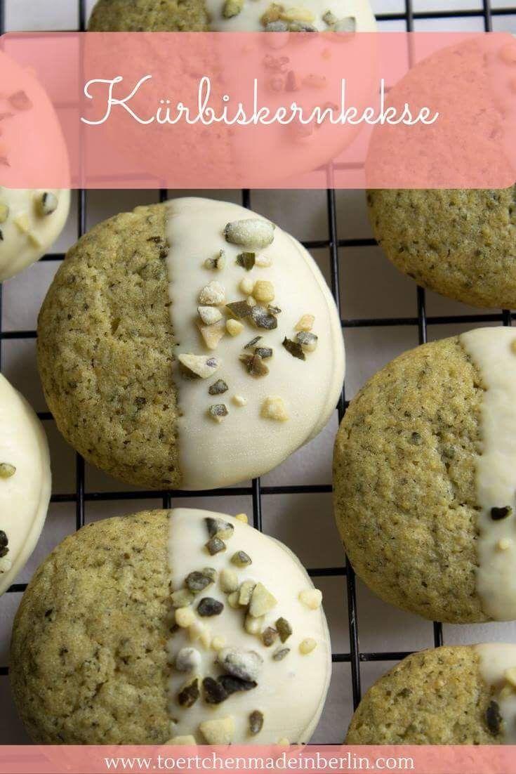 Photo of Galletas de semilla de calabaza con chocolate blanco