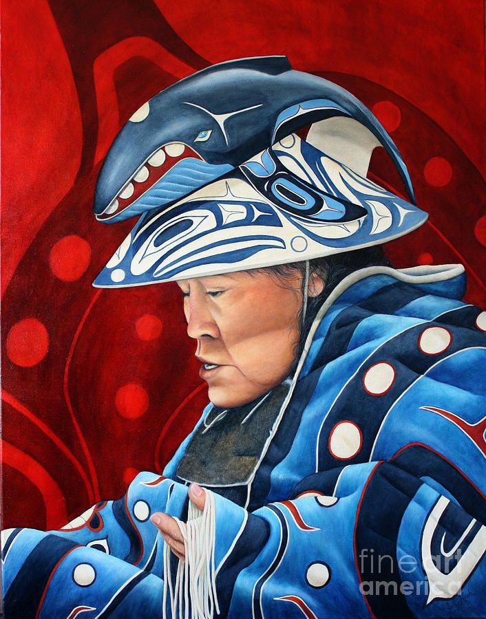 Whale Woman Painting by Joey Nash - Whale Woman Fine Art Prints and Posters for Sale