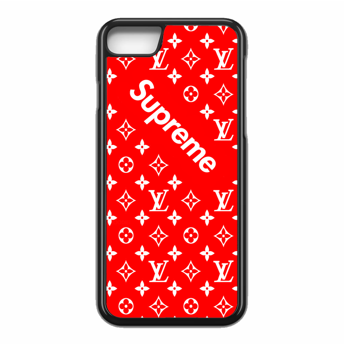 watch f4842 bd74b Supreme LV iPhone 7 Case | iPhone 10 Things | Iphone 7 cases, Iphone ...