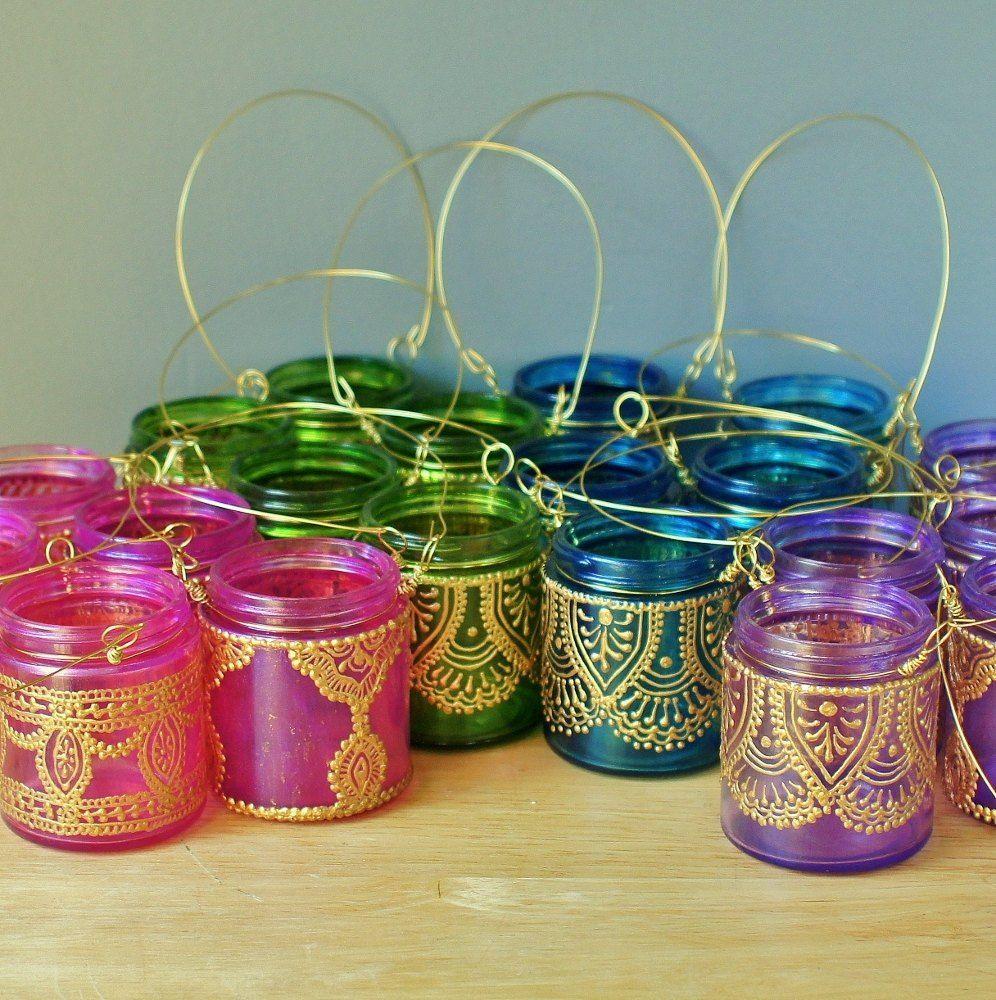 Fiesta estilo marroqu marroqu lampara arabe - Telas marroquies ...