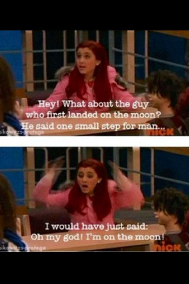 Ariana Grande as Cat Valentine lol Ariana grande, Stupid