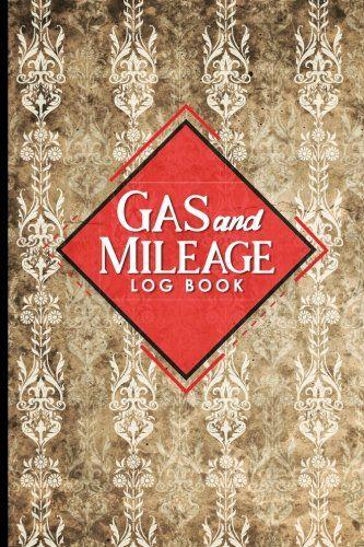 Pdf Download Gas  Mileage Log Book Mileage Booklet Mileage