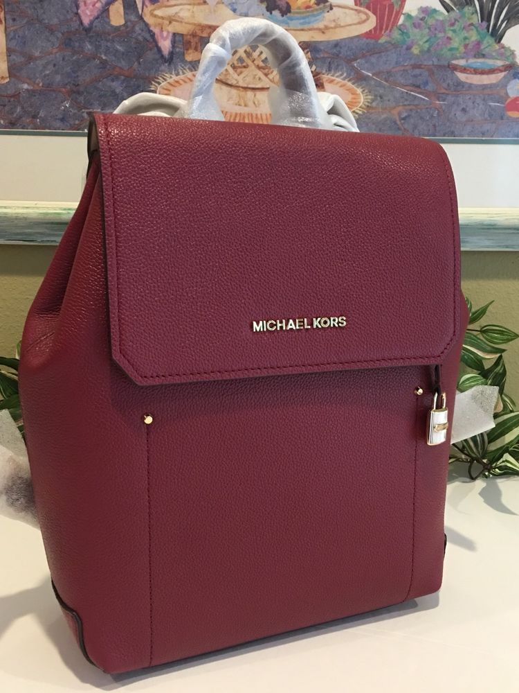 5b7df06abc509 MICHAEL KORS HAYES MEDIUM BACKPACK BAG LEATHER MULBERRY  348   114.99 End  Date  Sunday Nov-18-2018 14 32 24 PST Buy It Now for only …